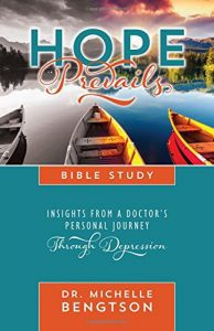 Hope Prevails Bible Study book cover by Dr. Michelle Bengtson