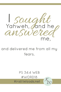 #fear | #deliverance | #God
