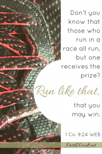 #run | #Christian | #Bible