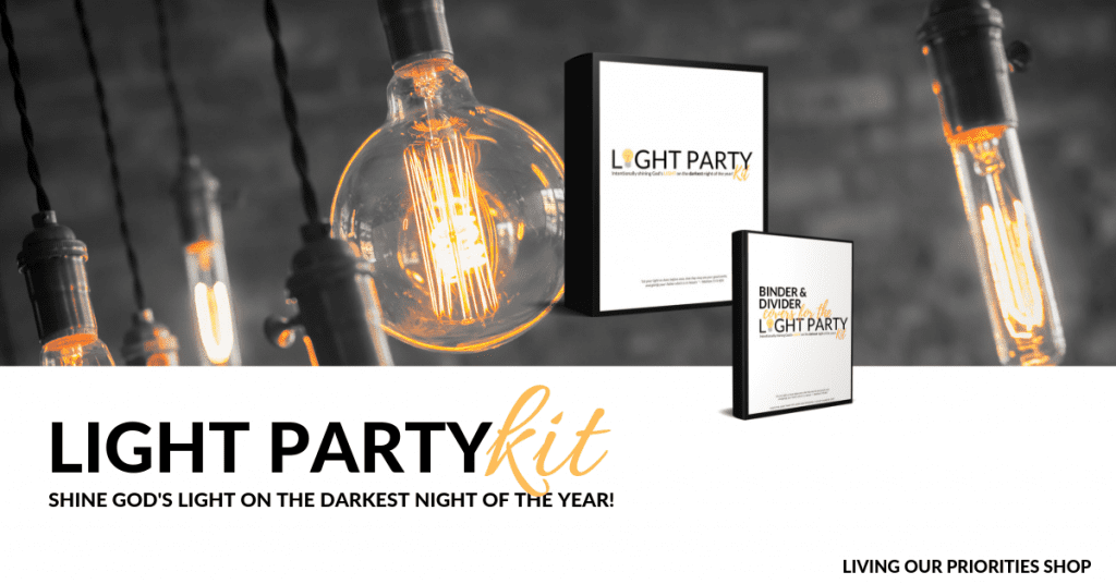 Light Party Kit Purchase Link for Halloween