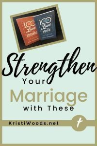 Two Christian Marriage books in upper left corner with blog post title