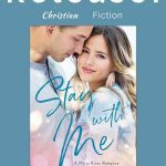 Book cover with man and woman for Christian fiction romance