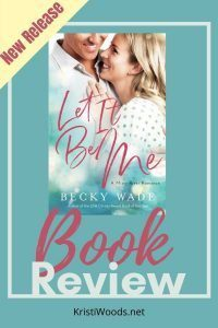 Let It Me book cover on announcement of book review